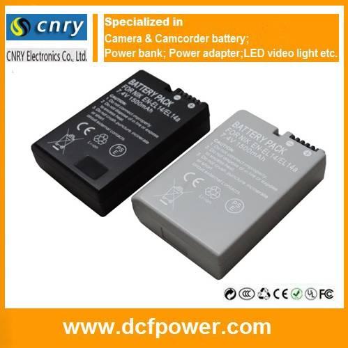 Full Decoded EN-EL14 EN-EL14a Camera Battery for Nikon ENEL14 D5300 D5200 D3100 P7000 P7100 P7700