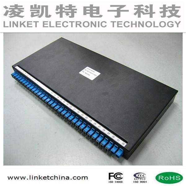 19'' 1U Rack PLC splitter