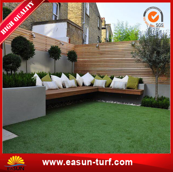 """S"" Shape Landscaping Artificial Turf Grass for Garden-MY"
