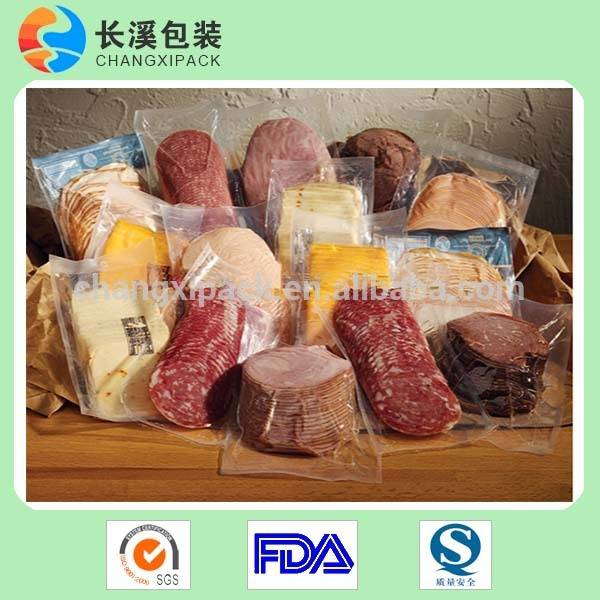 food embossed vacuum pouch
