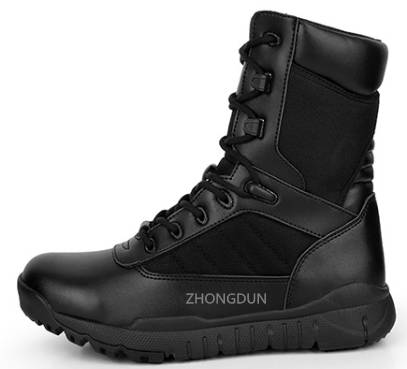 supply military boots/ desert boots/ safety shoes ZD107