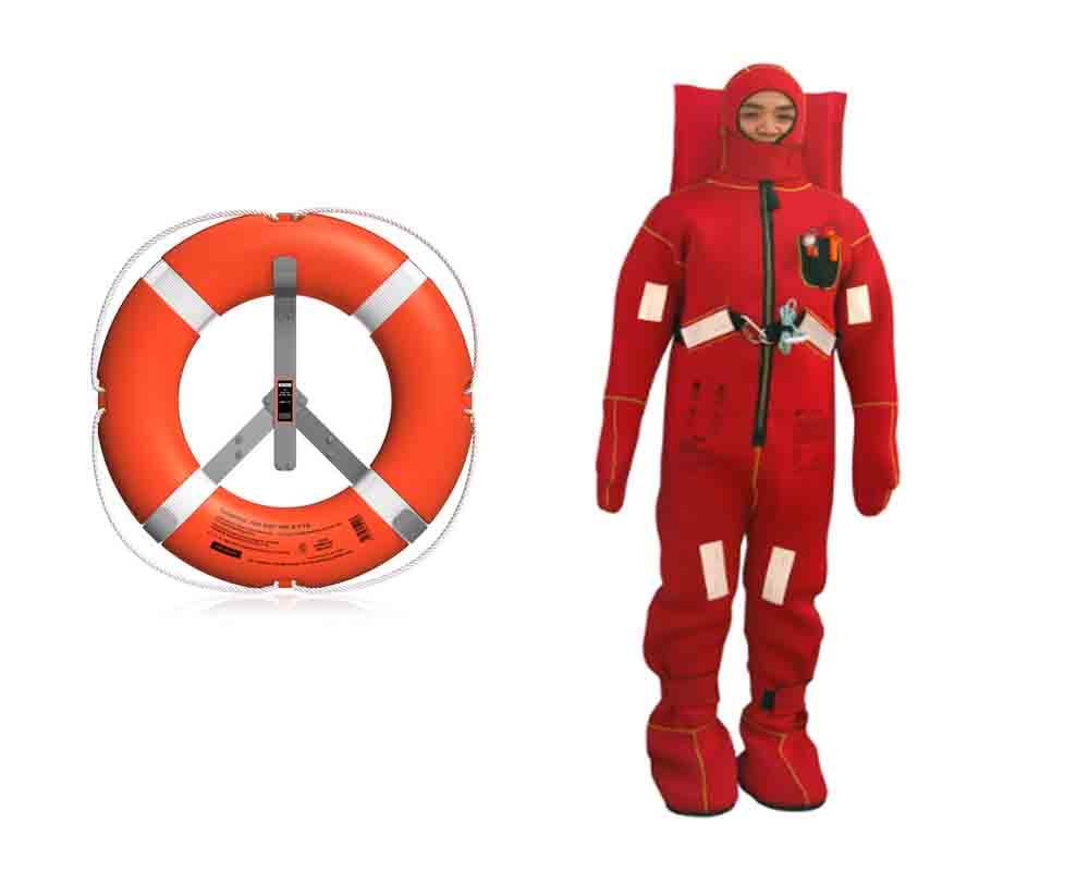 Immersion suit/survival suit/lifesaving suit CCS and EC certificate