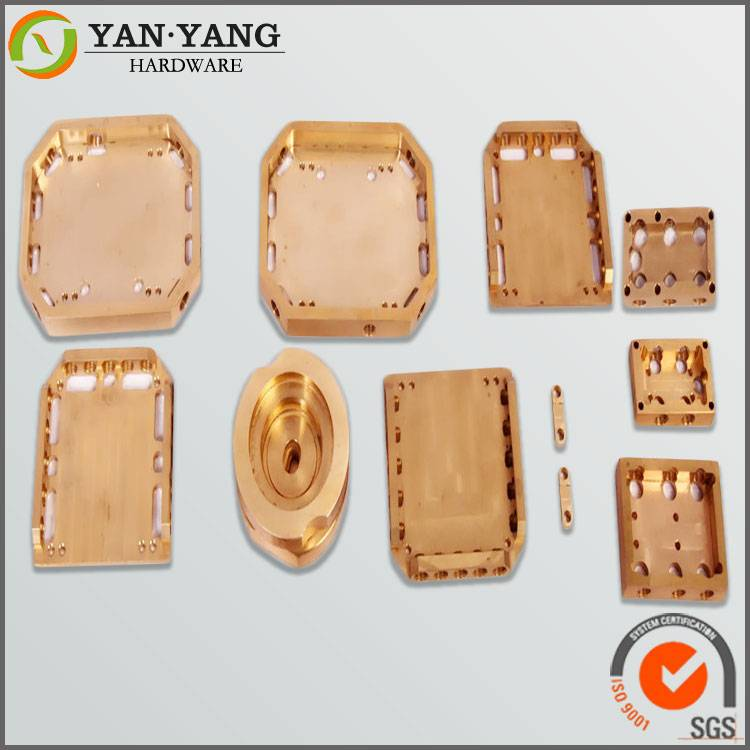 Dongguan factory made CNC Milling Machining Copper Part