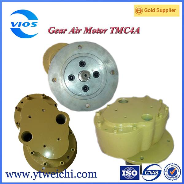 pneumatic motor for mining machinery
