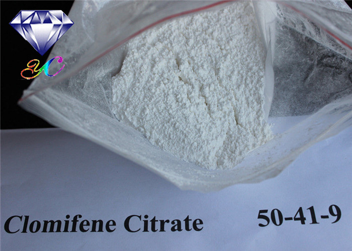 Clomifene Citrate Antiestrogen Steroids Powder 50-41-9 Clomid Tablets
