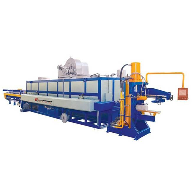 hot log shear furnace for aluminum extrusion billet.