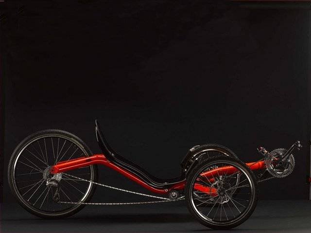 Factory customized recumbent frame recumbent trike sale