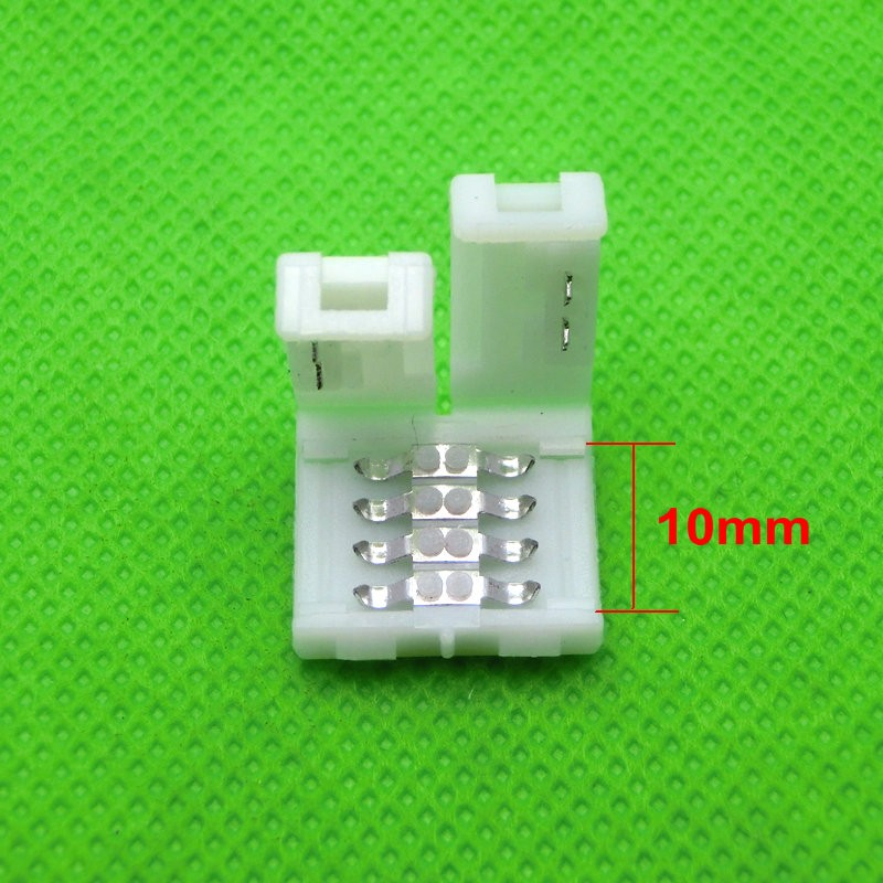 4pin 10mm Free Solder Connector For 5050 RGB LED Strip