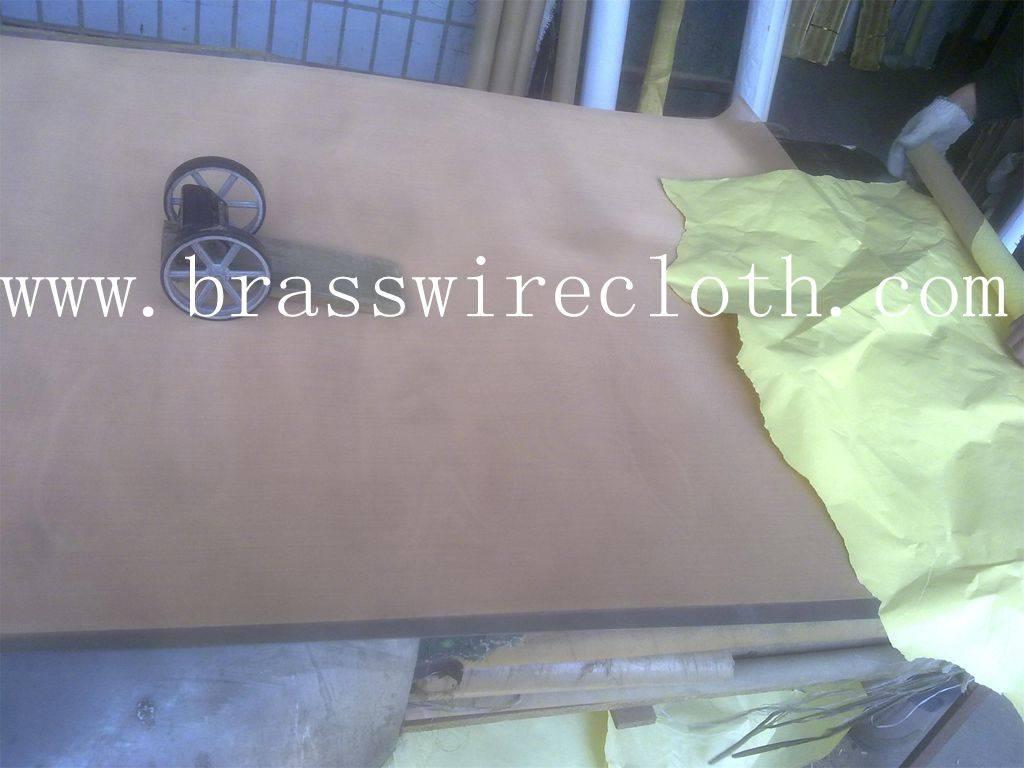 Purple copper wire mesh - red copper wire cloth