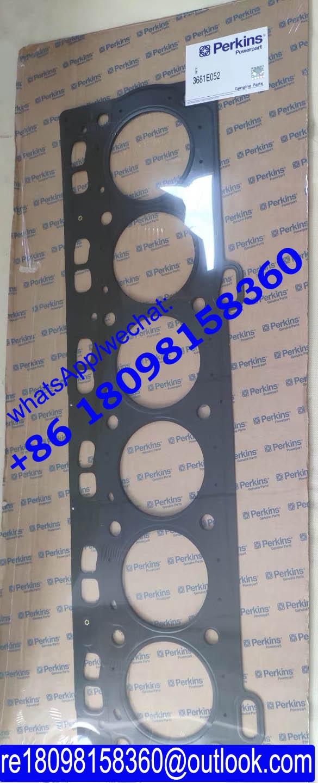 3681E049 Perkins Cylinder Head Gasket 3681E037 For 1004/ 4.4 engine parts 3681E051 3681E052