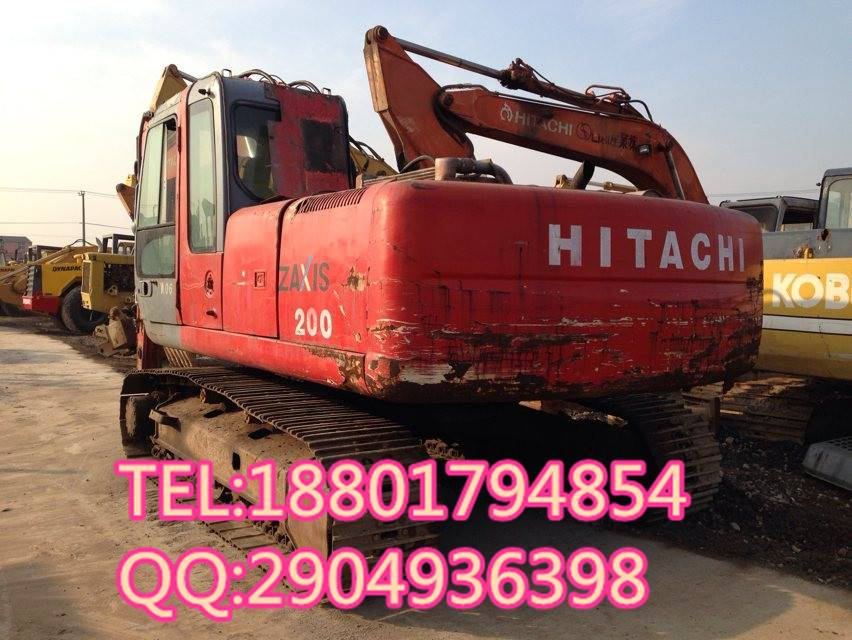 used good condition Hitachi ZX200 excavator for sale