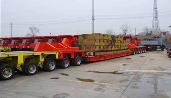 lowbed modular trailer