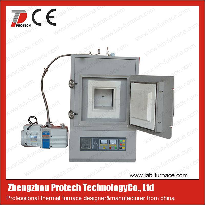 Protech inert gas muffle furnace with CE certificated
