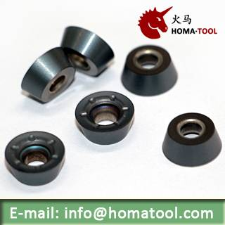 CVD coated Inserts for Face Milling RCKT