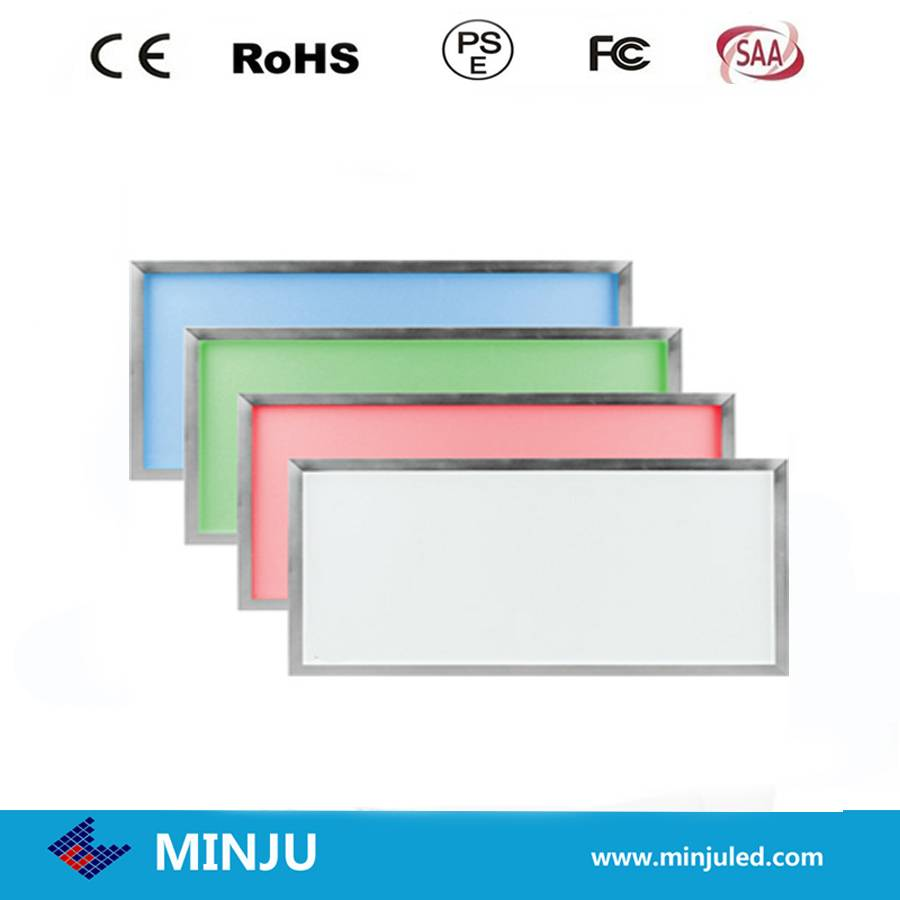 300*1200*12mm white/Warm white or RGB color dimmable LED panel