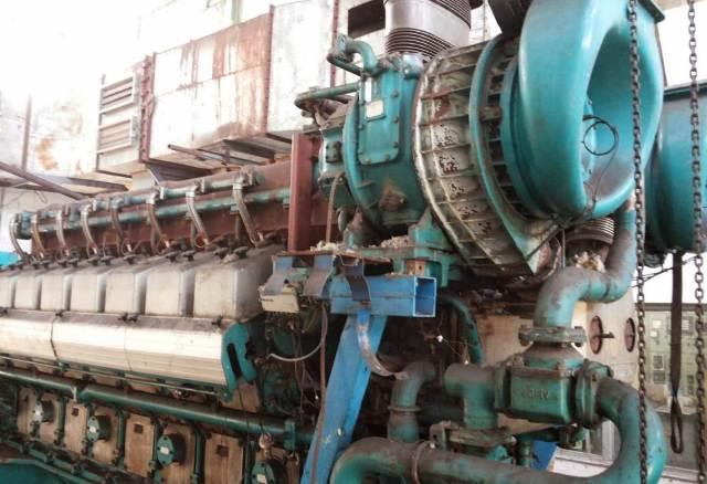 Wartsila Engine 16V25SG KW -3059, RPM-1000,HZ-50