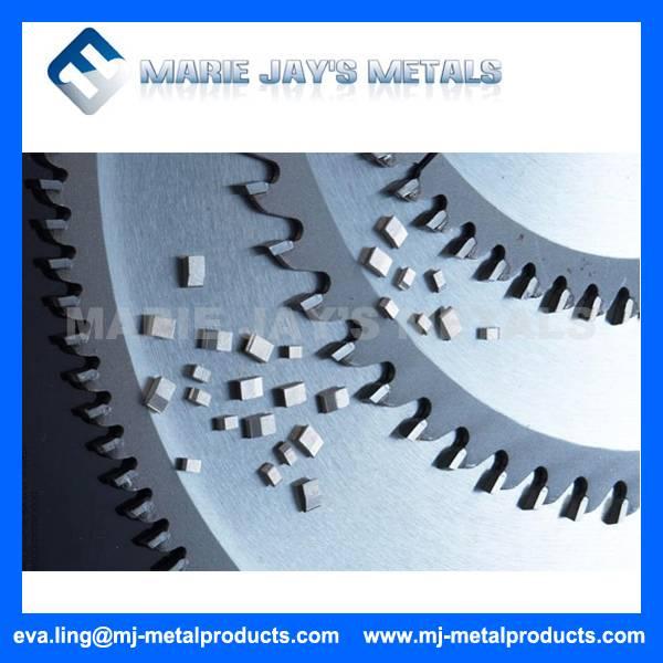 Tungsten carbide saw tips