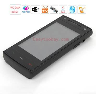 W301 3G video Chat(WCDMA+GSM) ,WFI,Analog TV,Java, 3.2 inch touch screen PDA mobilephone