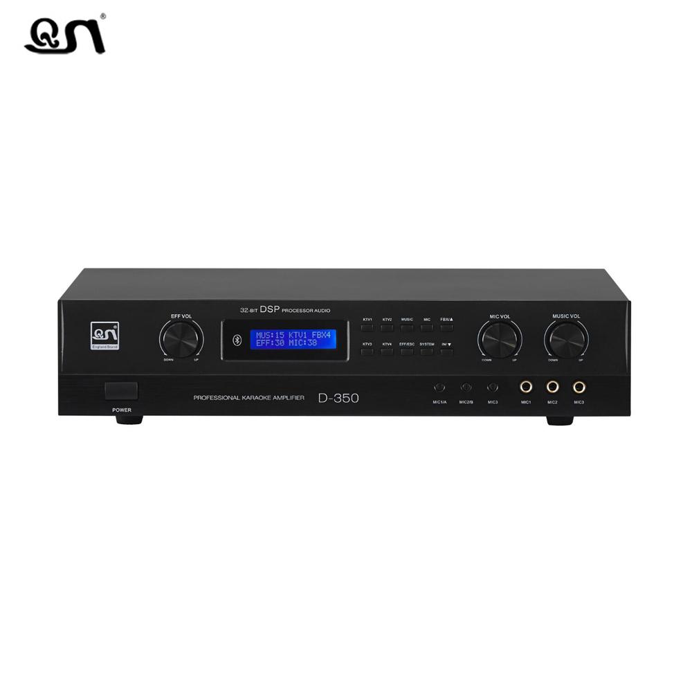350w class ab digital karaoke amplifier with DSP effect D350