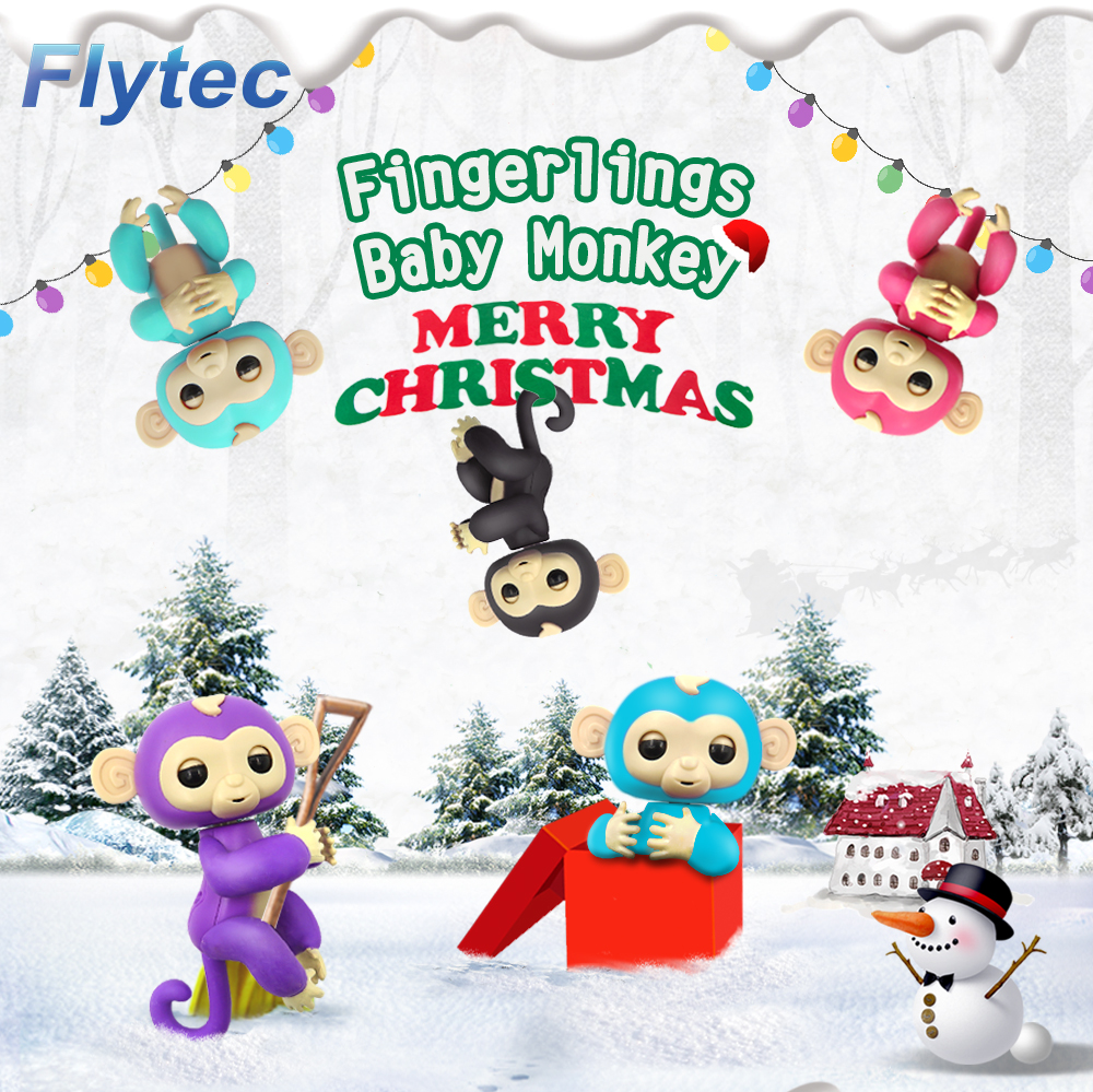 Flytec Finger Monkey Toy Interactive Smart Colorful Finger Smart Induction Toys
