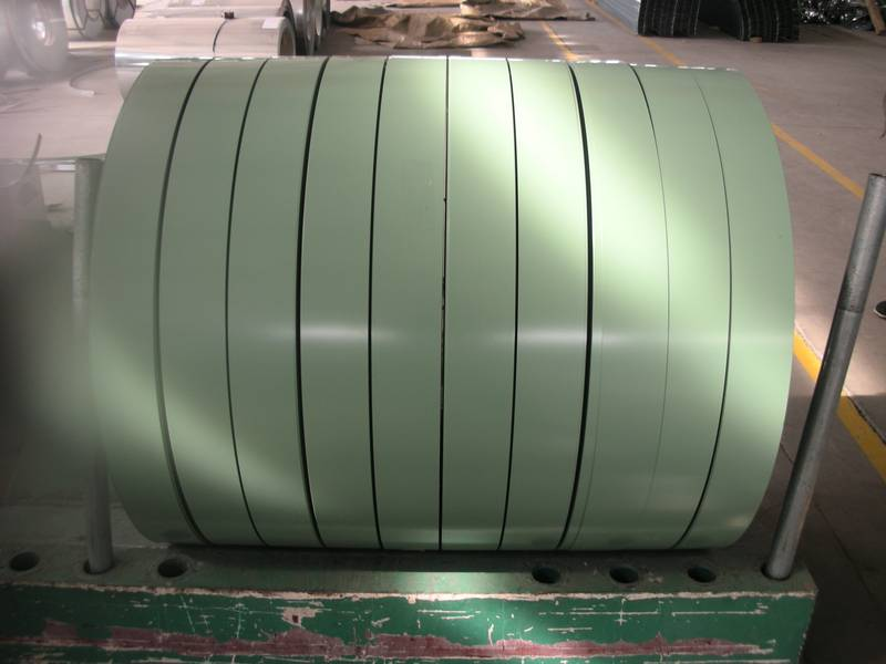 PPGI prepainted galvanized steel strip with soon delivery