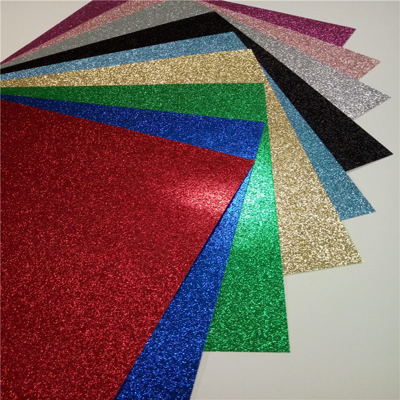 DIY craft paper Wholesales For Mother's Day DIY glitter paper