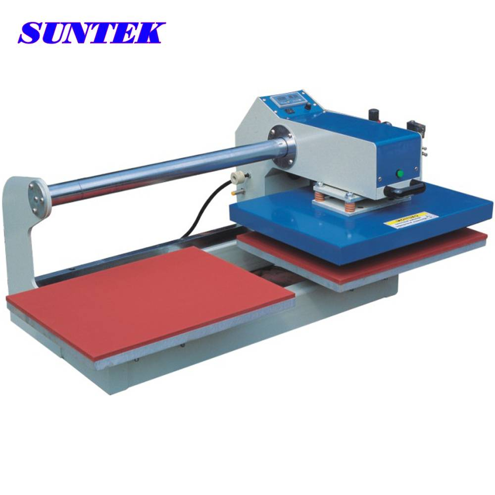 Quality Pneumatic Double Stations Heat Press Machine for T-Shirt
