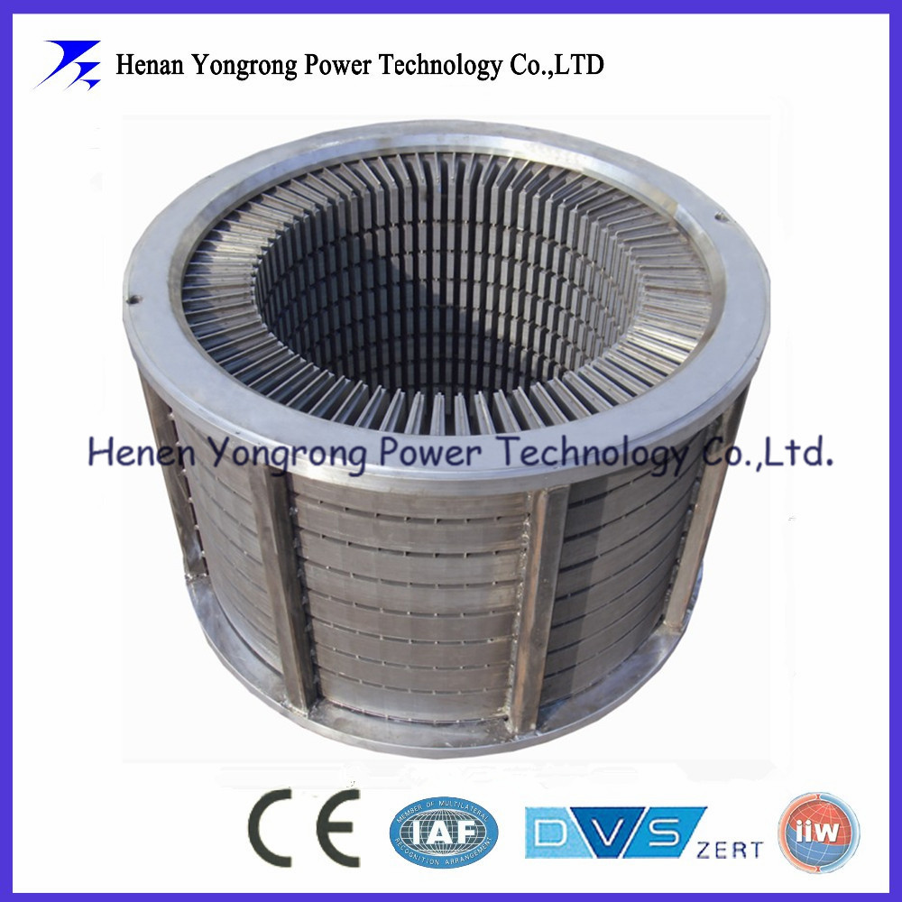 Generator rotor and stator