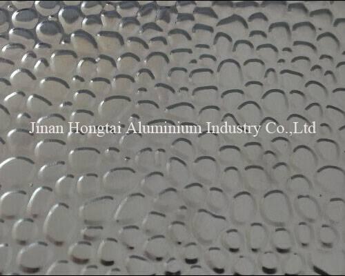 0.2-1mm pebble embossed stucco aluminum coil 1050 1060 1100 3003 3004 3104