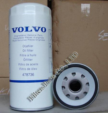 478736 volvo oil filter