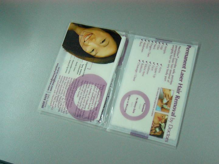 wallet tissue/pocket tissue/advertising tissue