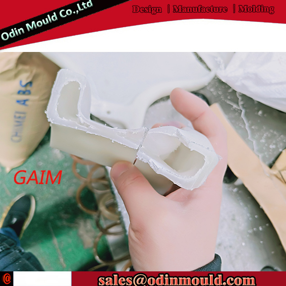 Gas Assisted Injection chair molding