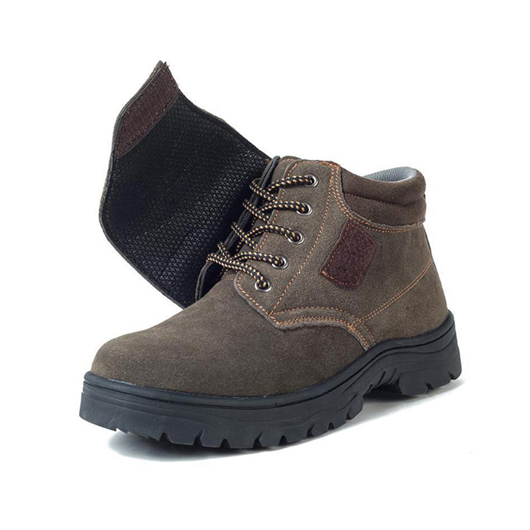 Durable Steel Toe and Steel Plate Welding Safety Shoes Safety boots