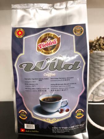 Sell WILD ROASTED COFFEE BEANS - Viet Deli Coffee Co., Ltd