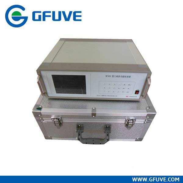 Portable smart three phase reference standard
