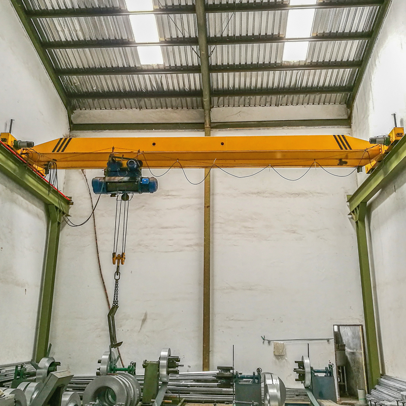 Electric single girder and double girder overhead crane