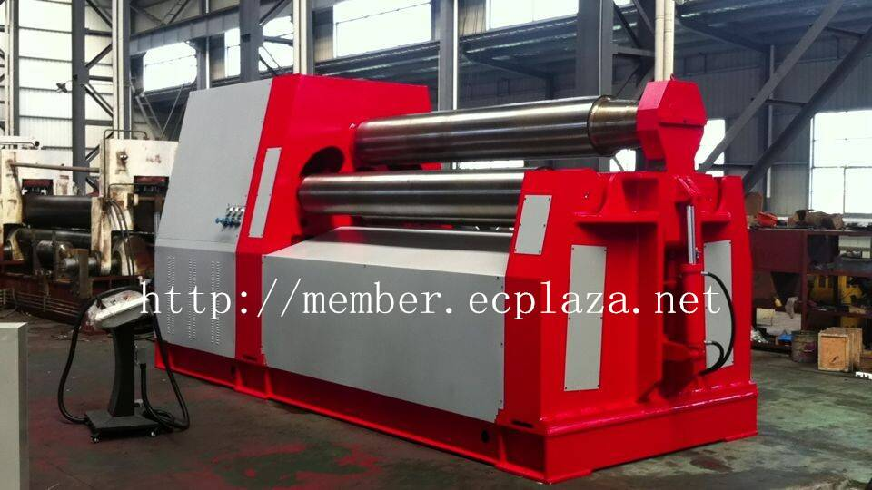 W12NC-20X2500 Hydraulic rolling machine Four-roller CNC bending machine