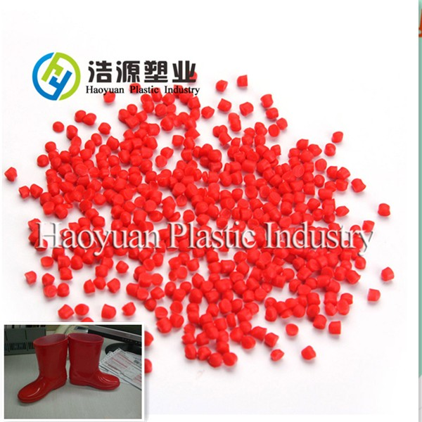 Red Soft PVC Compound for Rain Boots
