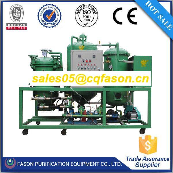 Exclusive technology waste dirty motor oil filter machine