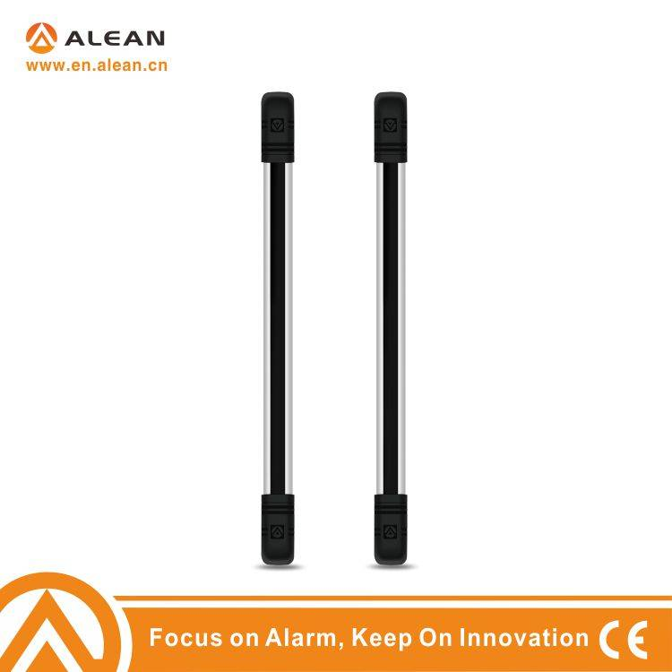 Active wired 4 beams Infrared Detective beam barrier