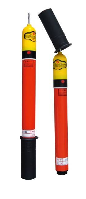 High Voltage fiberglass telescopic Electroscope
