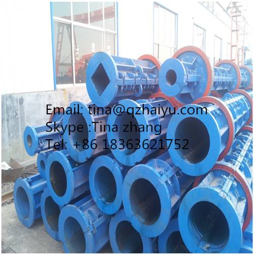The mould of concrete pole machine for making concrete pipes