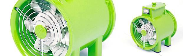 portable fan onishi 160mm worker bee