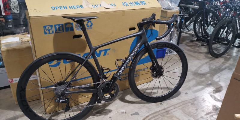 Giant TCR Advanced SL 0 Disc 2021 Road Bike