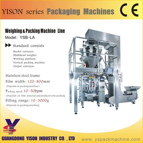CE approved weighing packaging machine