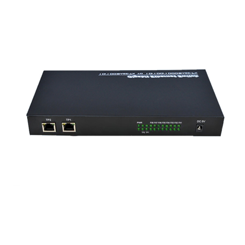 100M multi mode fiber duplex RJ45 media converter