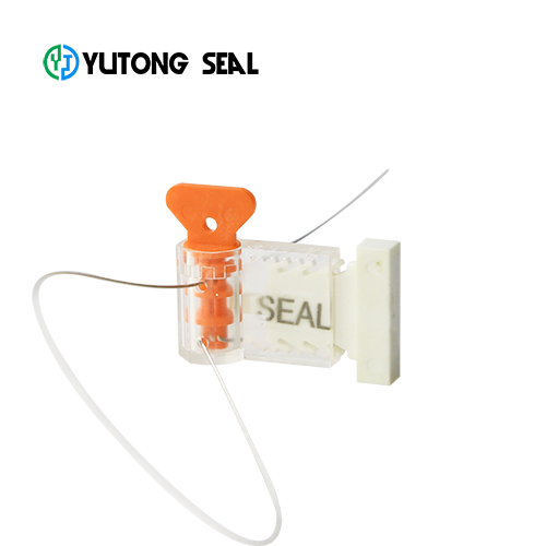 YT-MS 007 flexible latch lead gas meter lock for bar code seal