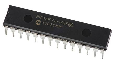 MICROCHIP PIC16F72-I/SP IC
