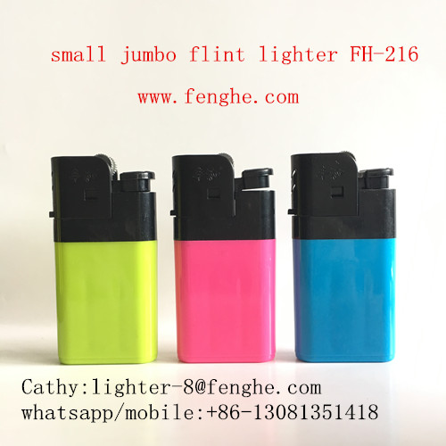 FH-216 small jumbo disposable flint lighter