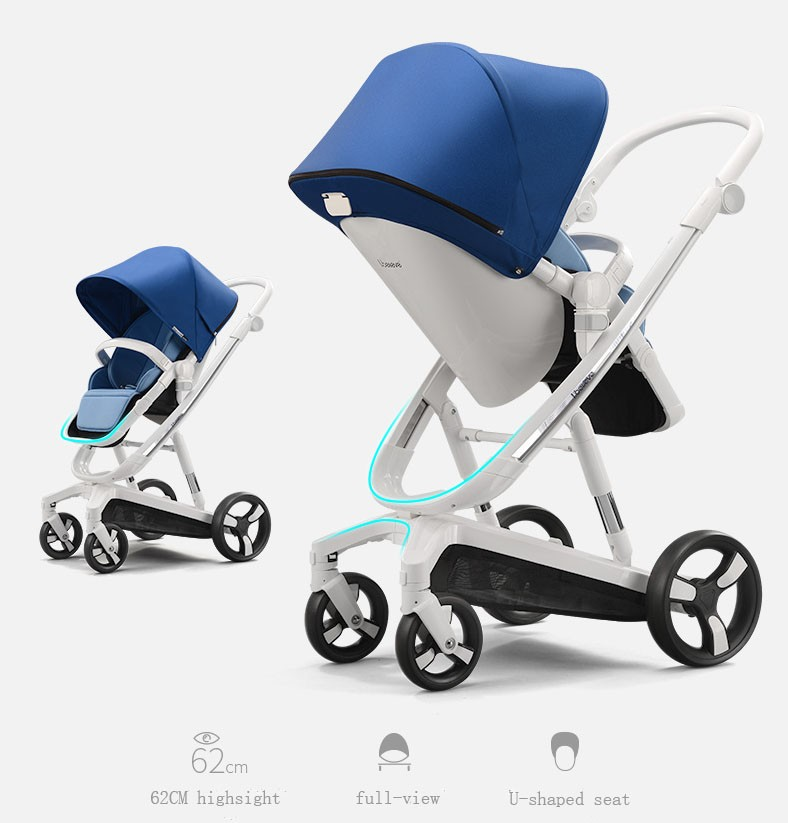 China Factory Baby Stroller Pushchair 3 in 1 Travel System New Baby Stroller